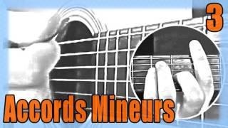 """Cours de Guitare pour Débutants : """"Les accords Mineurs"""""""