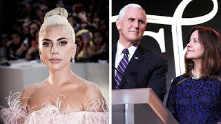 Lady Gaga Calls Vice President Mike Pence 'the Worst Christian'