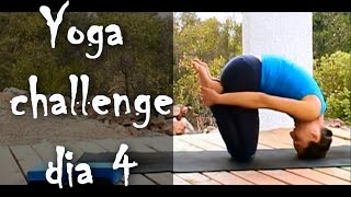 Yoga - Día 4: Yoga para espalda, Naga mudra, Kapalabhati + Ujjayi