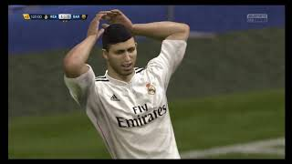 Самый эпичный матч сезона Реал Мадрид в FIFA #20