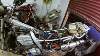 Бложек №55. BMW F650 Ремонт електропроводки. Пошук несправності.