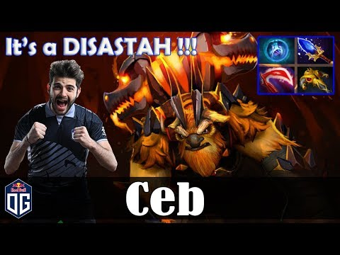 Ceb - Earthshaker Offlane | It's a DISASTAH !!! | Dota 2 Pro MMR Gameplay