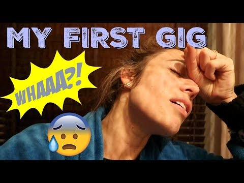 MY FIRST GIG - SHITTY DIARY #33 by Nienke Plas
