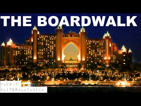 The Palm Island Boardwalk Dubai