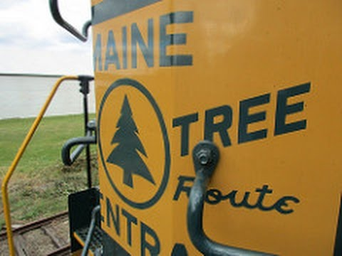 Belfast and Moosehead Lake railway fair trains, and A heritage unit cab ride!