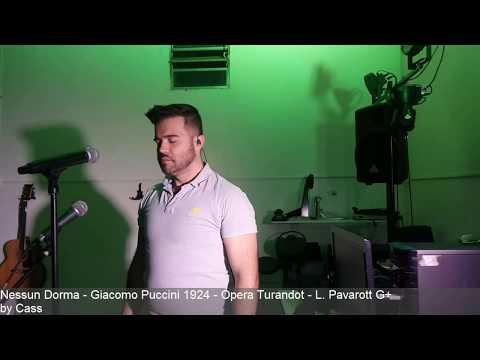 Nessun Dorma - Opera Turandot - Luciano Pavarott - cover @TheCass79 Brazil