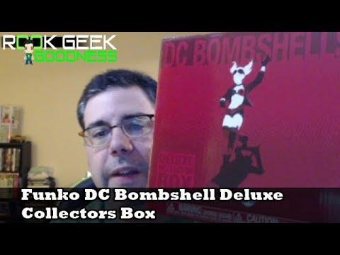 DC Bombshells Deluxe Exclusive Collectors Box Batman #258 Funko Pop Vinyle