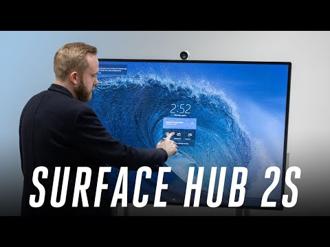 Microsoft's Surface Hub 2 hands-on: a collaborative PC for the future