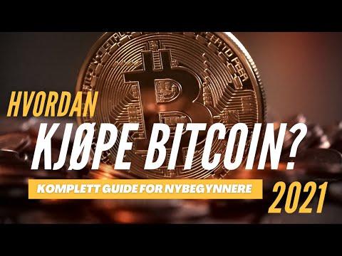 Hvordan kjøpe bitcoin? [Komplett guide for nybegynnere 2021]