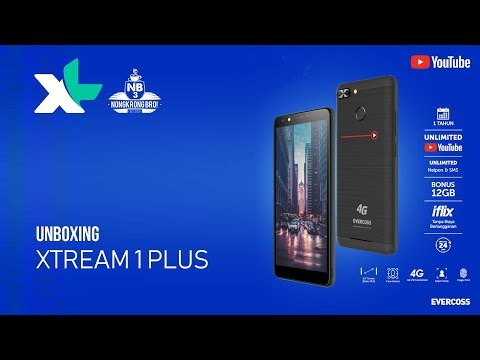 UNBOXING XL Xtream 1 PLUS Hape Android 900rb-an Unlimited Youtube Selama Setahun Part 1/4