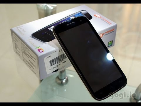 Micromax A116 review and unboxing Canvas HD
