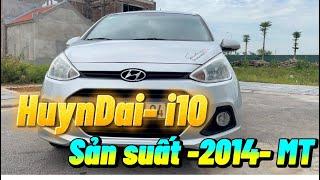 Huyndai I10  sx  2014-MT   Xe zin 100% cả xe,sơn si đẹp.máy gầm đại chất.xe ko khoan đục