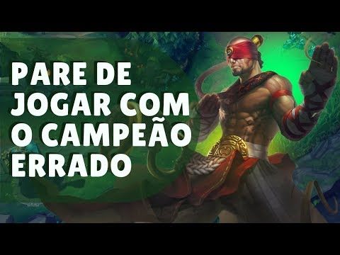 COMO ESCOLHER O CAMPEÃO CERTO PARA VOCÊ NO LEAGUE OF LEGENDS