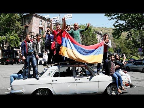 Армения: протесты в Ереване и других городах | 25.04.18