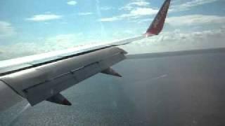 Jet2 757 landing in Palma de Mallorca