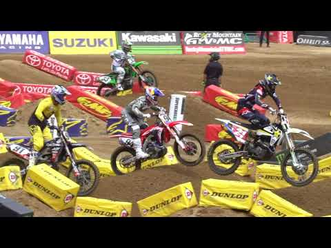 San Diego Supercross 450 free practice RAW