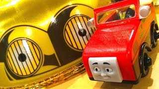 Thomas & Friends Winston Wooden Railway Toy Train Review By Mattel Fisher Price Character Friday