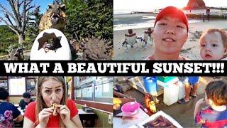 """SUNSET IN SOUTH KOREA, 노을"" international couple 국제커플(amwf)/🇬🇧🇰🇷👨👩👧👦다문화가정의 한국살이! Video"
