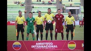 Venezuela sub23 vs Bolivia sub23 (resumen) - Amistoso Internacional 2019