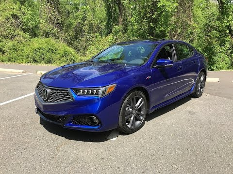 2018 Acura Tlx A Spec Sh Awd Redline Review