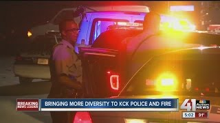 Unified Government trying to increase racial diversity in police, fire departments