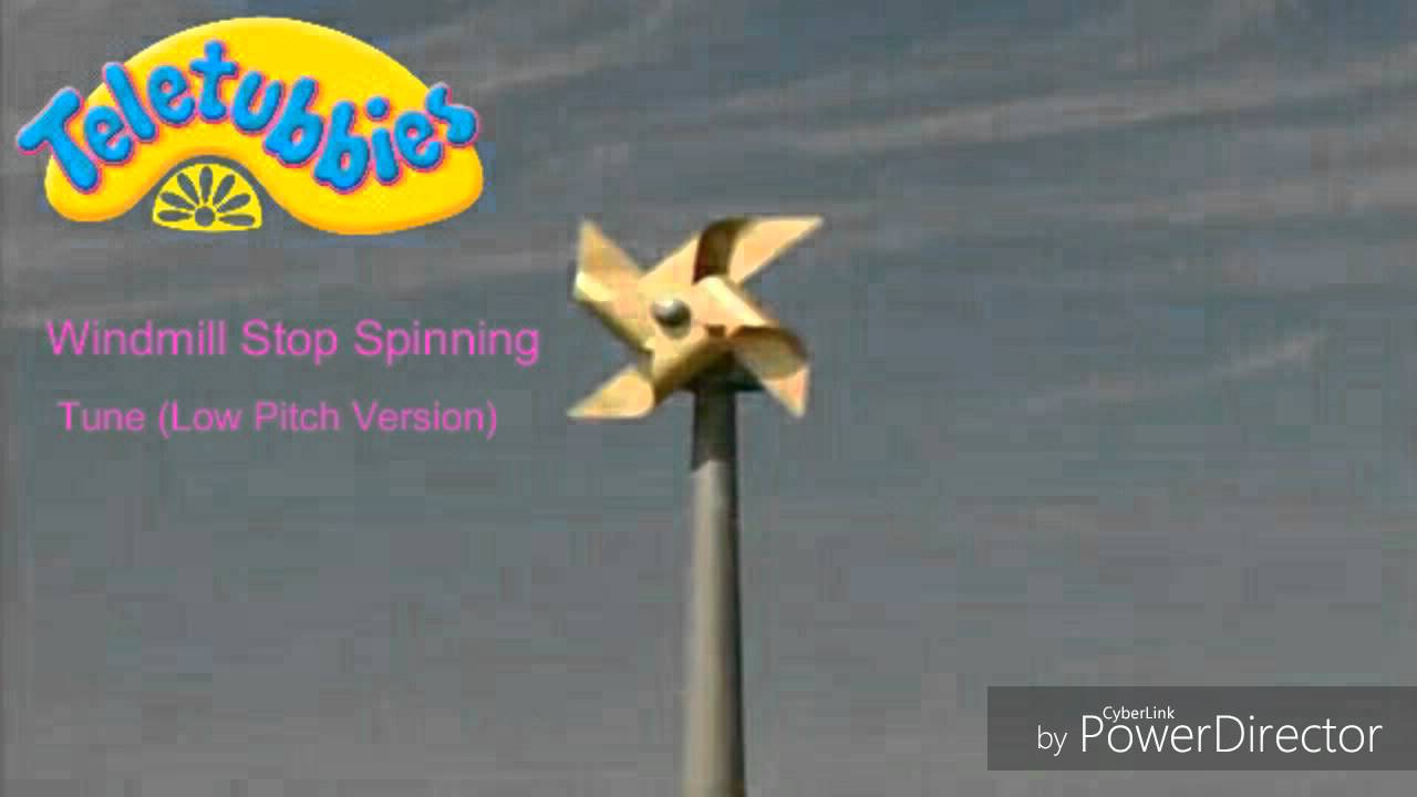 Teletubbies Windmill Stops Spinning Toy