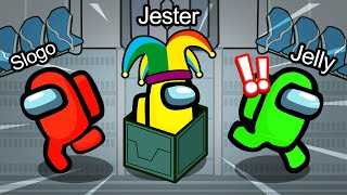 PRANKING Crewmates As A JESTER In AMONG US! (NEW)