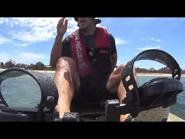 2015 Hobie Revolution 13 - Kayak Recovery Test