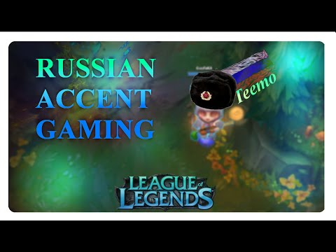★RUSSIAN ACCENT★ Teemo FAIL [german/russian]