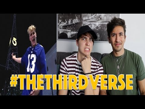 Reacting to Jake Paul's YouTube DISS TRACK! *THE THIRD VERSE*
