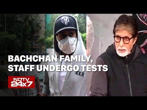 Amitabh Bachchan, Son Abhishek Test Positive For COVID-19, In Hospital