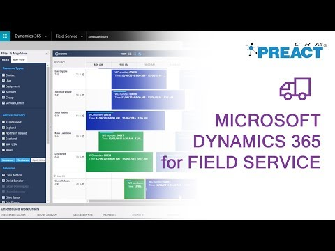 Demonstrating Microsoft Dynamics 365 for Field Service