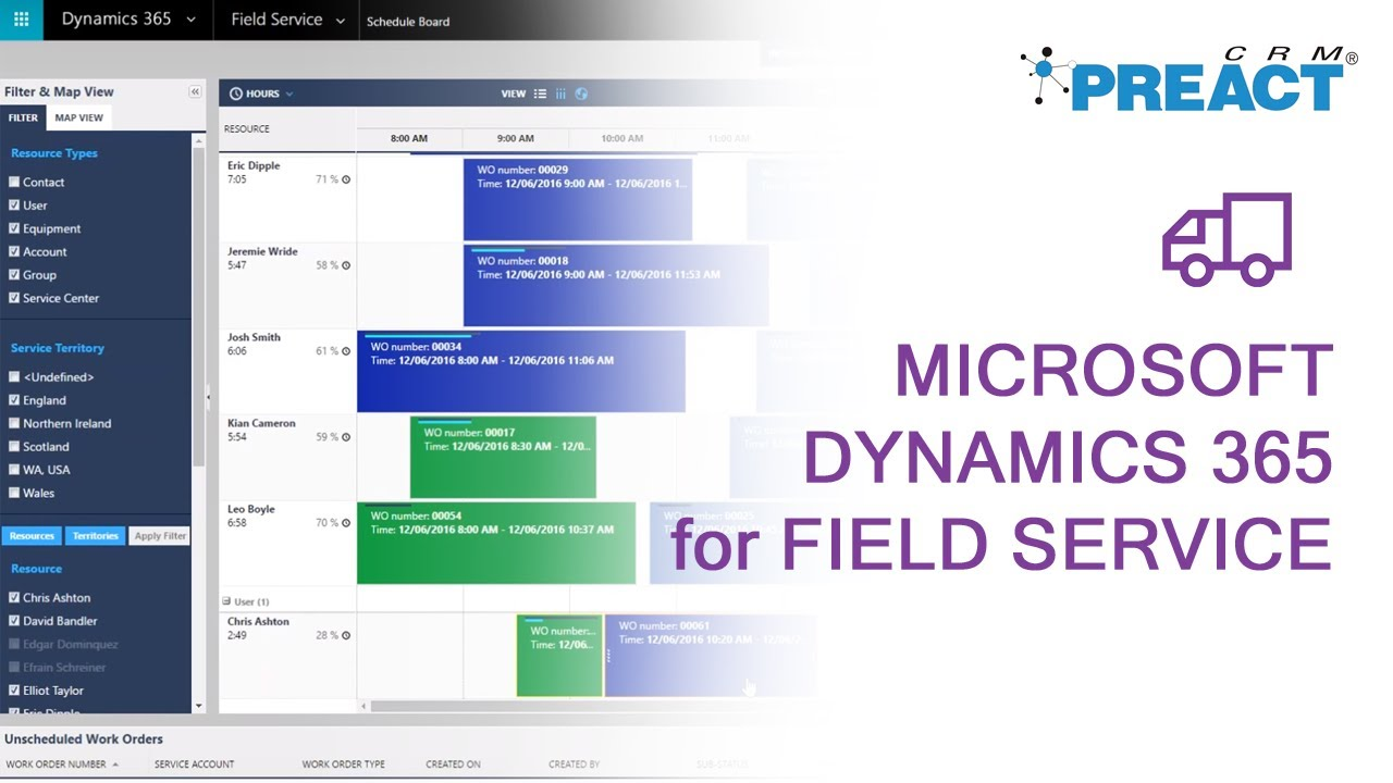 Microsoft Dynamics 365 App for Field Service - A Walkthrough Tour