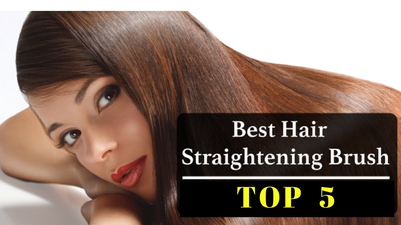 Best Hair Brush Straightener Top 5