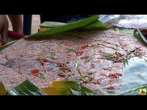สุดยอดจิ้นส้มหมูแขวงไชยยะ Chaiyaburi local food