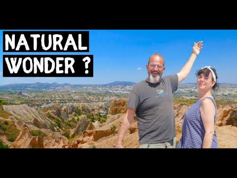 CAPPADOCIA TURKEY - Hiking the valleys of this World Wonder