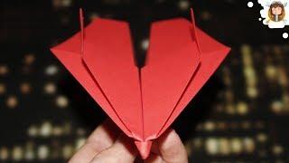 Como fazer um avião de papel que voa muito longe - (Testado)