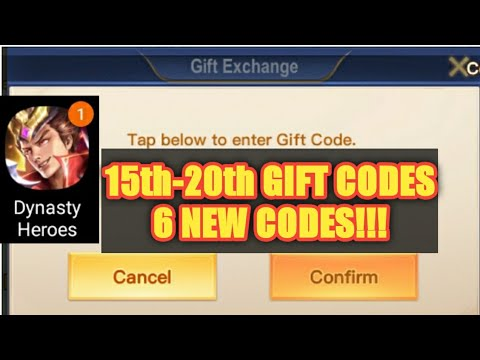 Dynasty Heroes: Legend of SamKok 15th - 20th Gift Codes ...