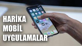 HARİKA MOBİL UYGULAMALAR 2019 (3 ios ve Android Uygulama)