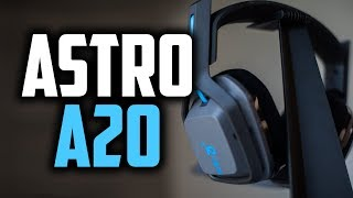 Astro A20 Wireless Gaming Headset Review - It's Pretty Damn Nice