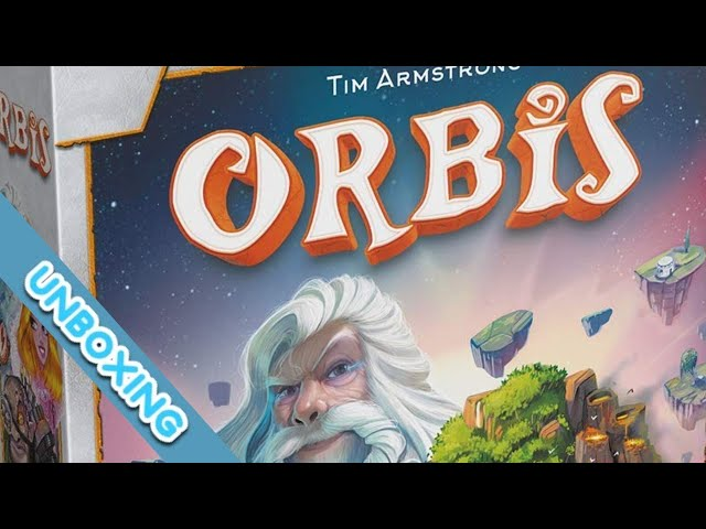 Orbis Board Game Unboxing