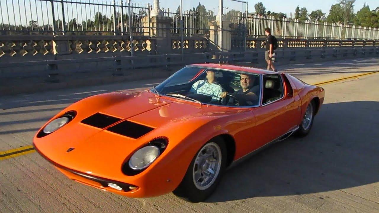 Orange Lamborghini Miura S Youtube