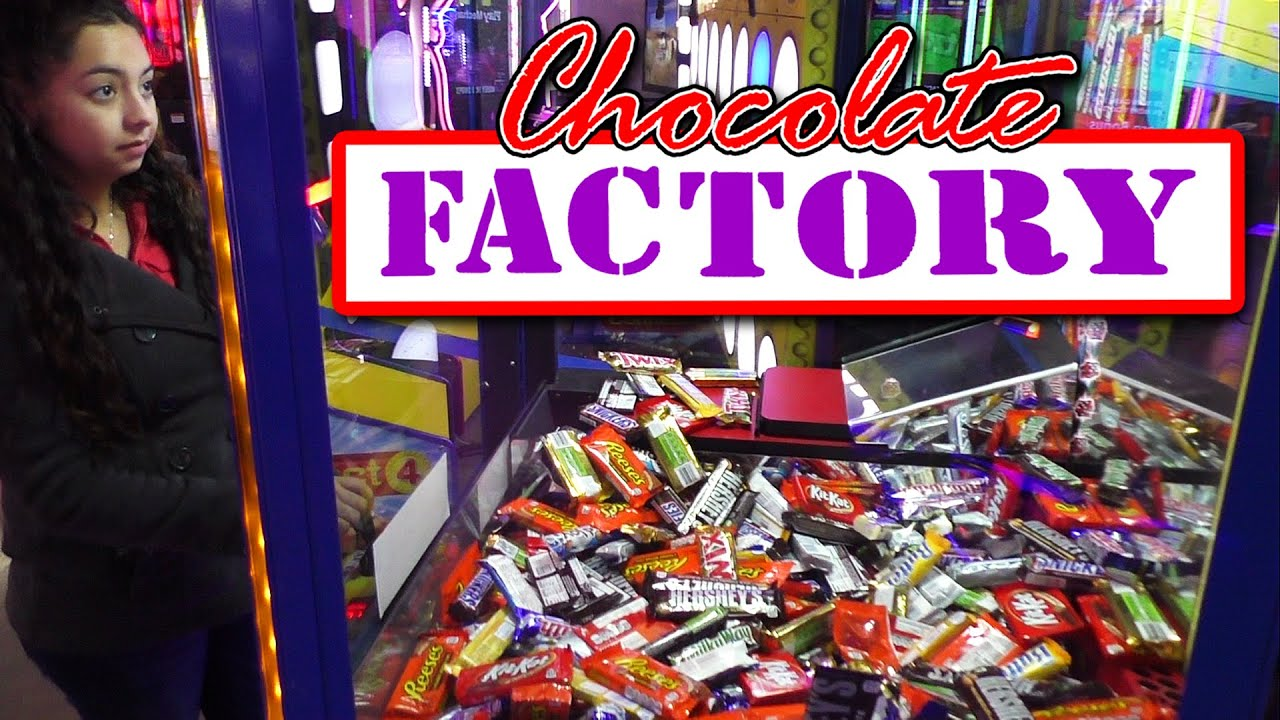 Chocolate Factory Candy Pusher – Claw Machine Wins