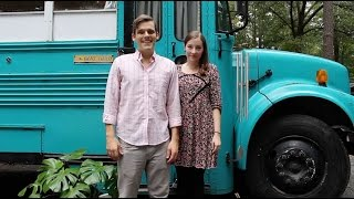 Julie and Andrew's Converted School Bus Home thumbnail