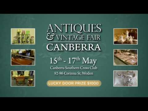 The Inaugural Canberra Antiques and Vintage Fair