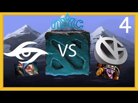 Secret vs Vici Gaming - Game 4 - NYC LAN Grand Finals - LD & GoDz