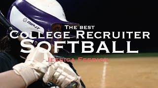 The Best Softball Recruiting Videos - Jessica Feerick