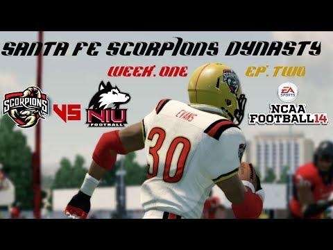 NCAA 14 Santa Fe Scorpions Dynasty: Week 1