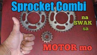 Sprocket Combination (100cc to 125cc motor)