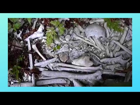 NIUE, ancient Polynesian burial cave (WARNING: images of human bones, Pacific Ocean)